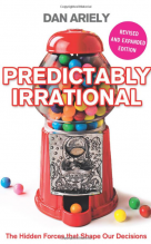 Dan Ariely - predictable irrational cover