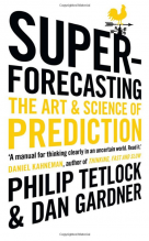 super forecasting - the art & science of prediction cover